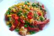 рис с замороженным овощами
