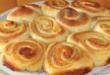 сдобные булочки на кефире.