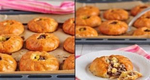 Вак балиш (маленькие пироги с мясом и картошкой).